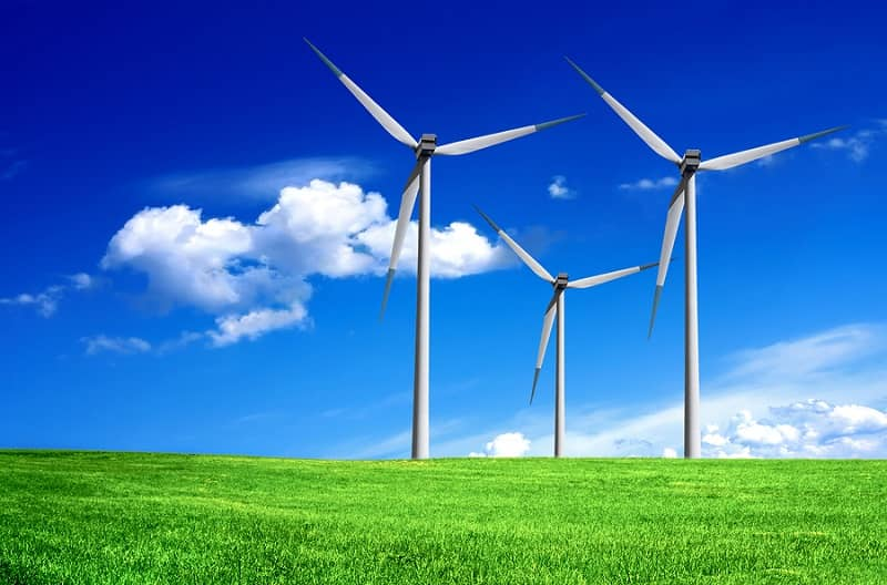 Greater use of wind energy