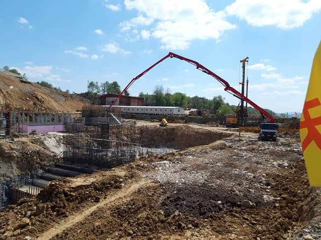 Flotation construction project in the RBM  to increase the processing capacity to 11 Mt of copper ore per year